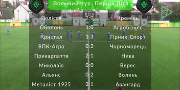 Первая лига. 8 тур