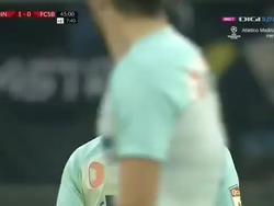 Игрок «Стяуа» продолжил матч, несмотря на брошенный в него стул