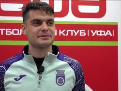 Первое интервью Алибекова после прибытия в «Уфу»
