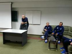 Игорь Суркис представил команде Михайличенко и его штаб