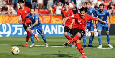 Украина U-20 — Корея U-20 — 3:1