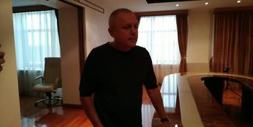 Интервью Игоря Суркиса на тему назначения Михайличенко
