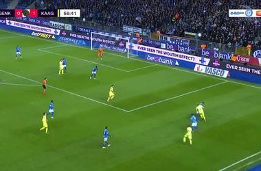 Безус в матче за «Гент» эффектно заработал пенальти и реализовал его