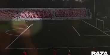 Молния попадает в 16-летнего голкипера «Знамя Труда»