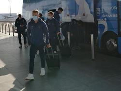 «Динамо» отправилось в Бельгию на матч с «Гентом»