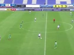 Дебютный гол де Пены за «Динамо»