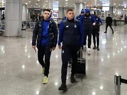 «Динамо» отправилось на матч с «Днепром-1». Репортаж из аэропорта «Борисполь»