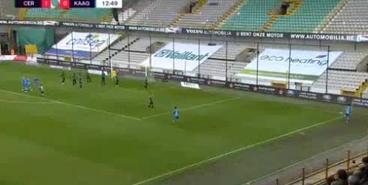 Яремчук в очередном матче за «Гент» реализовал пенальти и выполнил голевую передачу