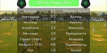 Первая лига, 28-й тур