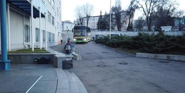 «Днепр-1» — «Динамо»: приезд на стадион
