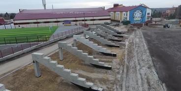 Стадион «Колос». Реконструкция