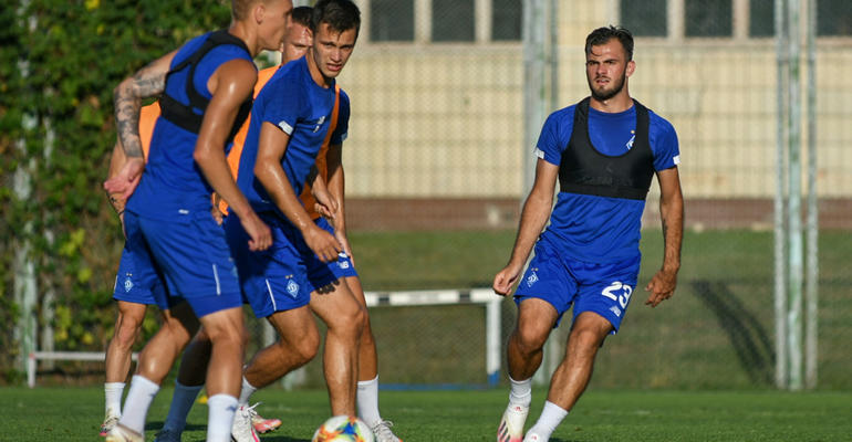 Подготовка «Динамо» к сезону в разгаре: акцент на тактике