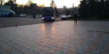 «Олимпик» — «Динамо»: приезд команды на стадион
