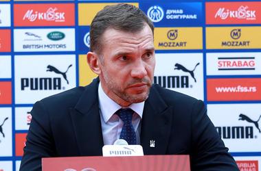 Сербия — Украина: послематчевая пресс-конференция Андрея Шевченко