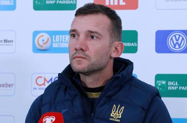 Люксембург — Украина: предматчевая пресс-конференция Андрея Шевченко