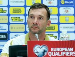 Украина — Люксембург: предматчевая пресс-конференция Андрея Шевченко