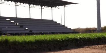 На новом стадионе «Ингульца» постелили газон