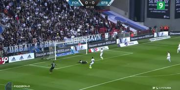 «Копенгаген» — «Эсбьерг» — 3:1. Обзор матча