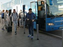 «Динамо» отправилось в Швейцарию на матч с «Лугано»