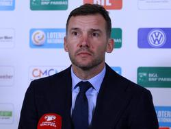 Люксембург — Украина: послематчевая пресс-конференция Андрея Шевченко