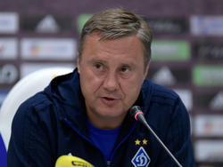 «Брюгге» — «Динамо»: предматчевая пресс-конференция Александра Хацкевича