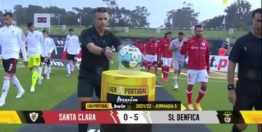 «Санта-Клара» — «Бенфика» — 0:5