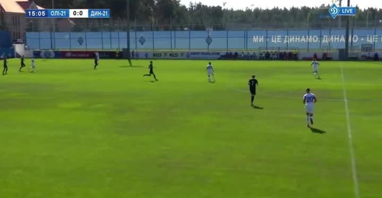 «Олимпик U-21» — «Динамо U-21» — 0:9