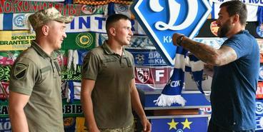 «Динамо» передало квадрокоптер ВСУ