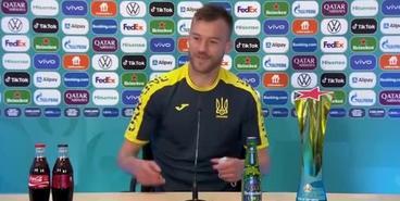 Ярмоленко пошутил во время пресс-конференции