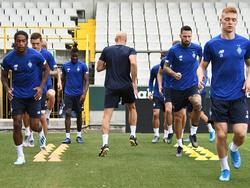 «Динамо» в Брюгге: прилёт, тренировка, репортаж со стадиона