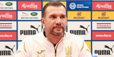 Сербия — Украина: предматчевая пресс-конференция Андрея Шевченко в Белграде