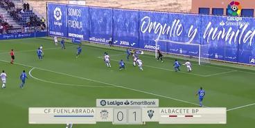 «Фуэнлабрада» — «Альбасете» — 0:1. Обзор матча и гол Зозули