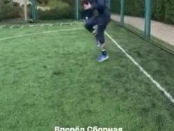 Тренировка Бурды и Шапаренко