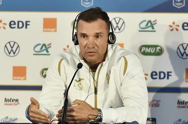 Франция — Украина — 7:1. Послематчевая пресс-конференция Андрея Шевченко