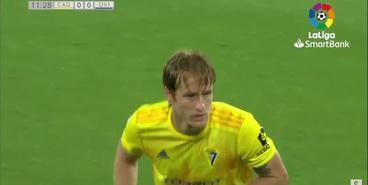 Лунин отразил пенальти в матче с «Кадисом»