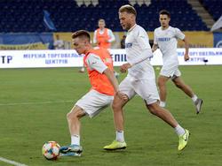 Открытая тренировка сборной Украины на «Днепр-Арене»
