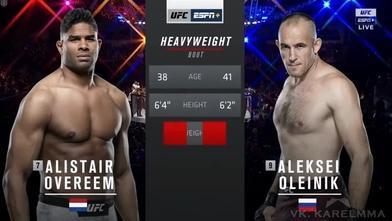 Video Alistair Overeem Aleksey Oleynik Full Fight